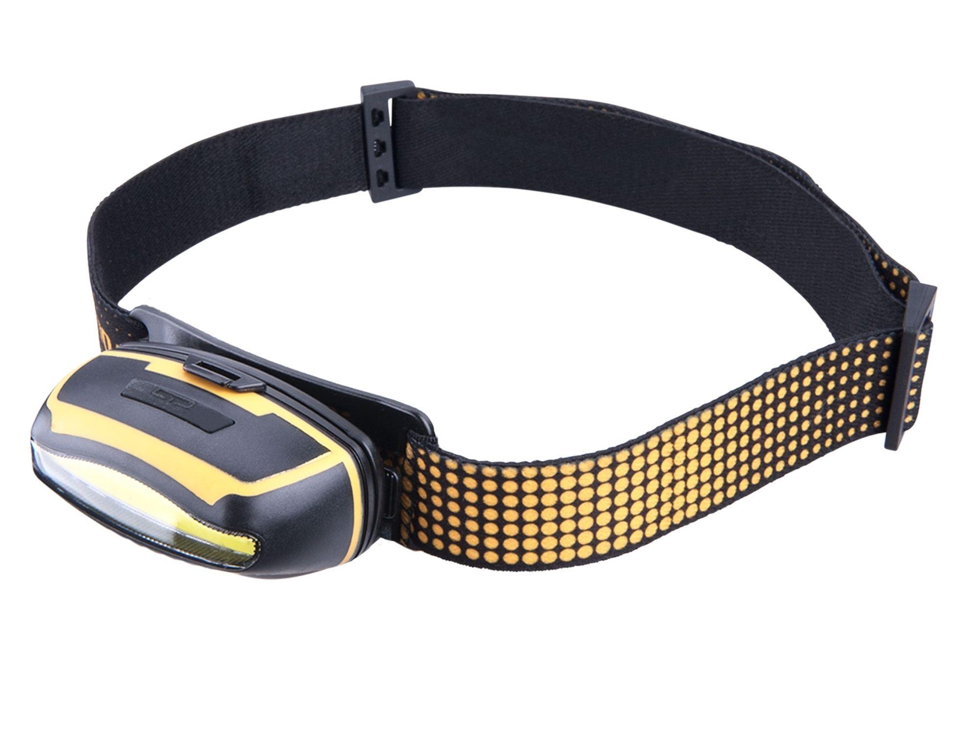 Čelovka širokoúhlá 300lm, 5W COB LED EXTOL-LIGHT 43109