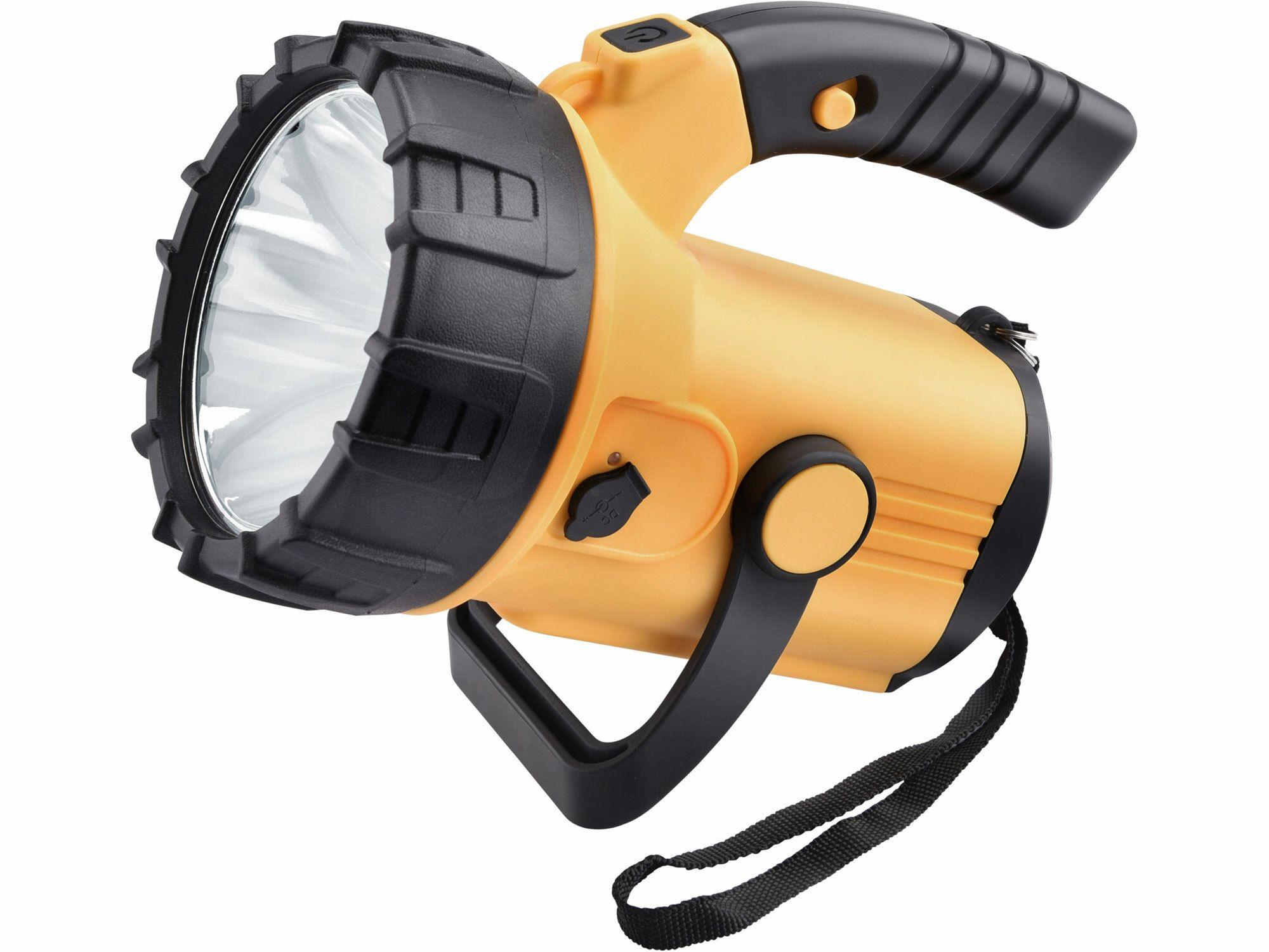 Svítilna 500lm CREE XML s bočním světlem 300lm, nabíjecí, CREE XML 10W LED, EXTOL LIGHT