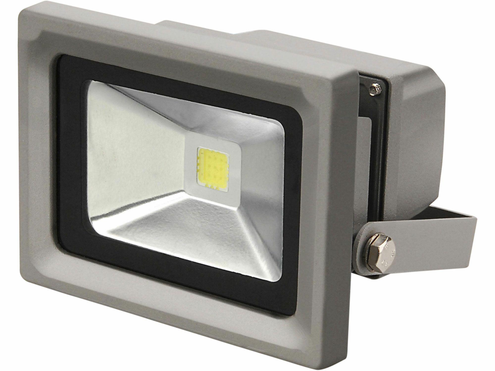 Reflektor LED, 10W, 800lm, denní světlo, IP65, 230V/50Hz, teplota chromatičnosti 6300K EXTOL-LIGHT