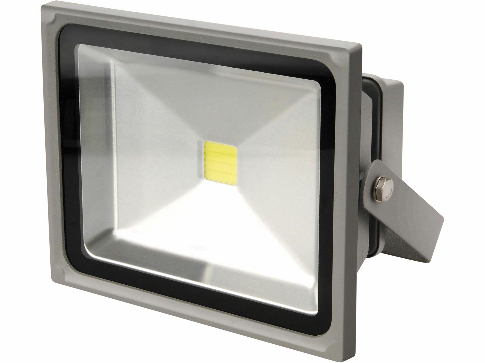 Reflektor LED, 30W, 2600lm, denní světlo, IP65, 230V/50Hz, teplota chromatičnosti 6150K