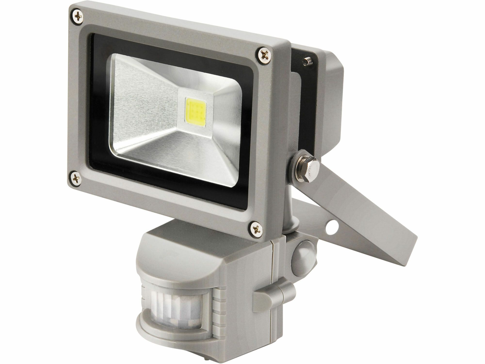 Reflektor LED s pohybovým čidlem, 10W, 800lm, denní světlo, IP44, 230V/50Hz