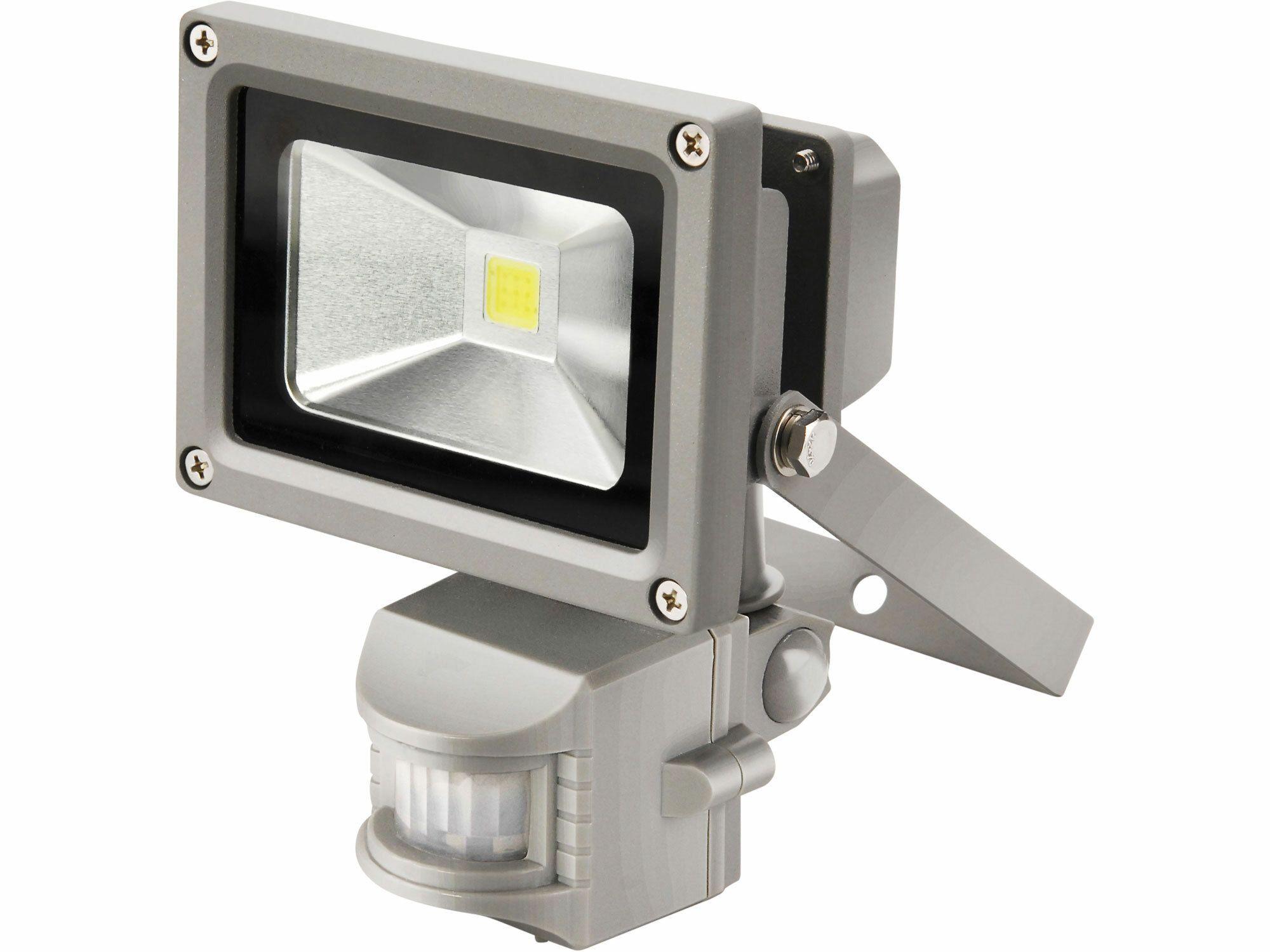 Reflektor LED s pohybovým čidlem, 10W, 800lm, denní světlo, IP44, 230V/50Hz EXTOL-CRAFT