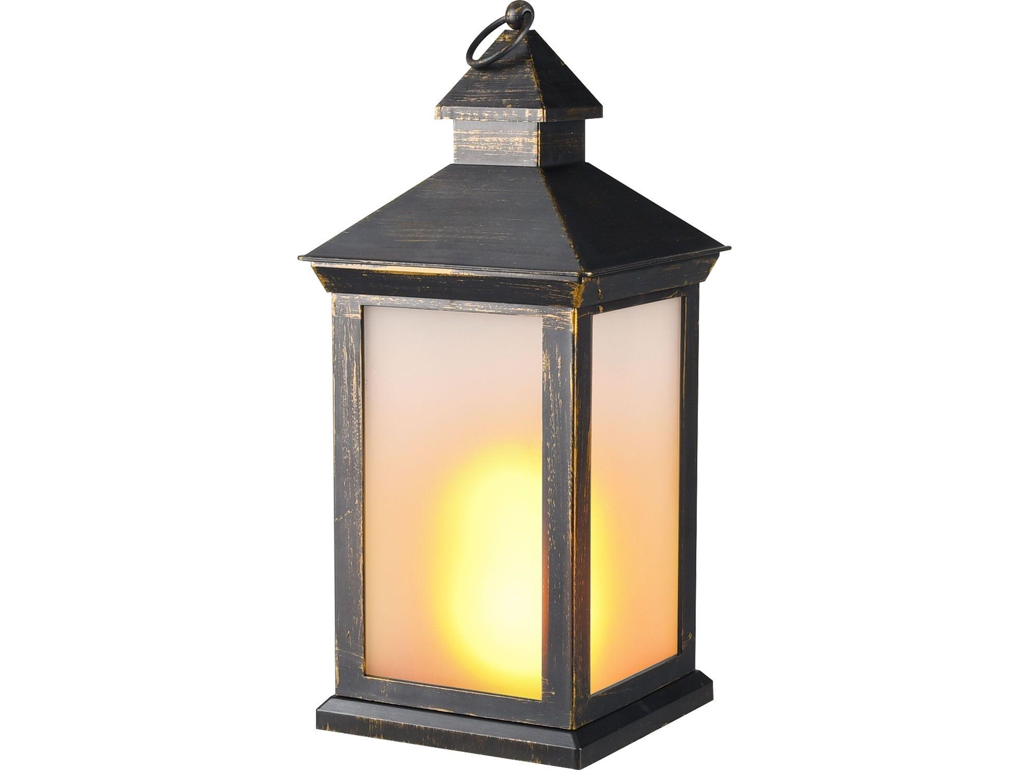 Lucerna LED s plamenem EXTOL-LIGHT