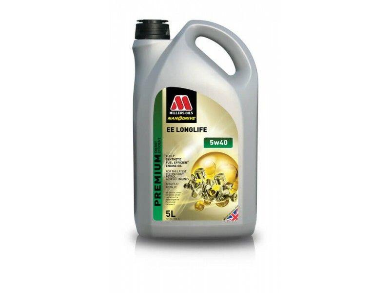 Millers Premium EE Longlife 5w40 5l MILLER OILS