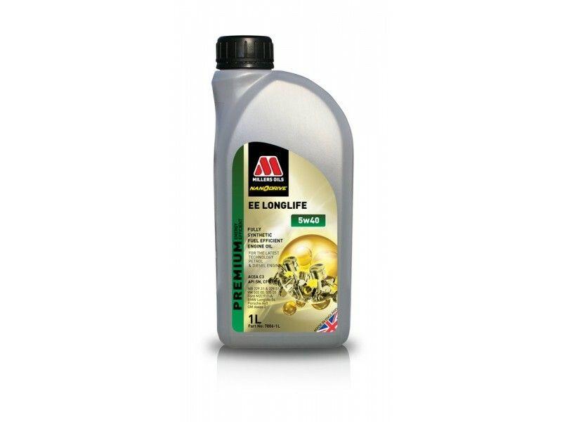 Millers Premium EE Longlife 5w40 1l MILLER OILS