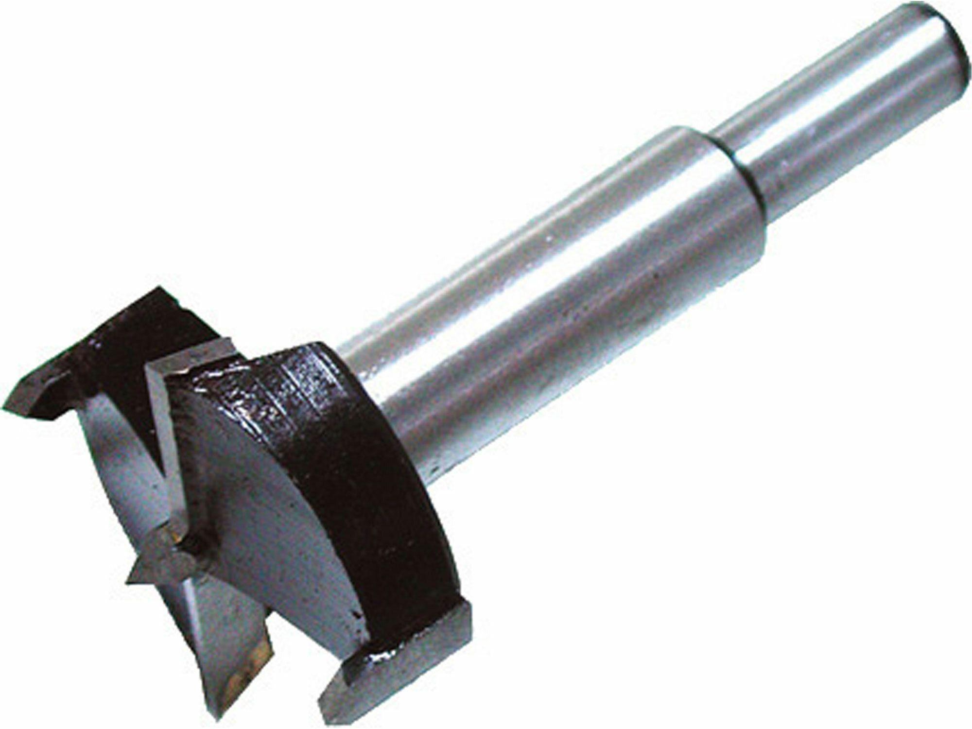 Fréza čelní-sukovník, do dřeva s SK plátky, O 35mm, stopka 10mm EXTOL-CRAFT
