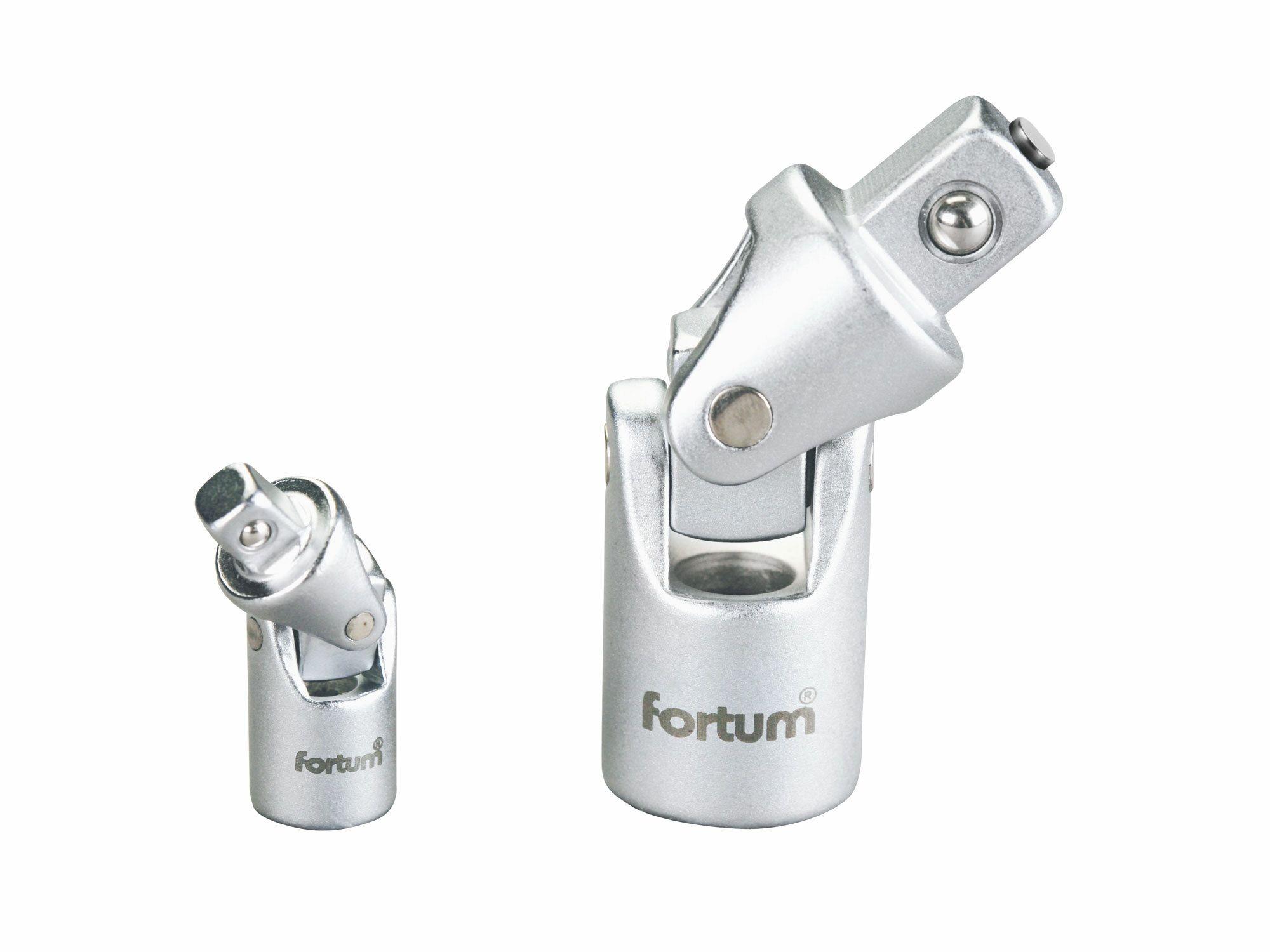 "Kardan univerzální, 1/2"", L 71mm, s magnetem, 61CrV5, FORTUM"