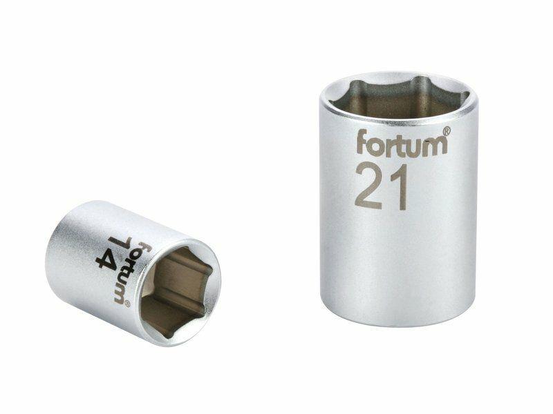 """Hlavice nástrčná 1/4"""", 6mm, L 25mm FORTUM"""
