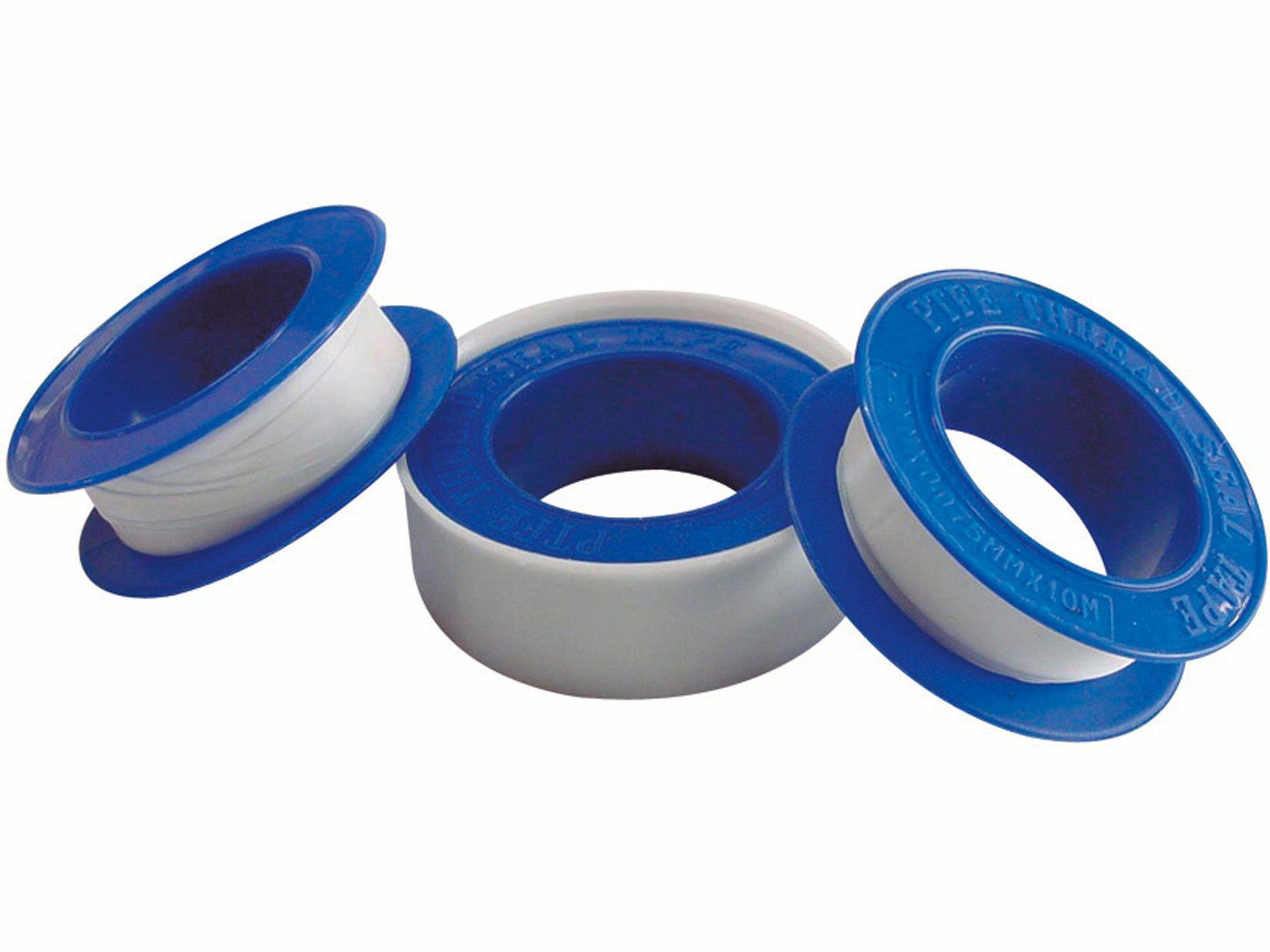 Teflonové izolační pásky, sada 3ks, 12mm x 10m, tloušťka 0,075mm EXTOL-CRAFT