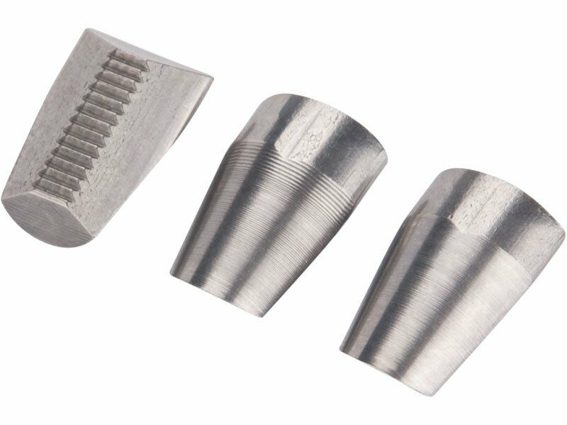 Čelisti 3ks do nýtovacích kleští, 10mm, Cr-Mo FORTUM