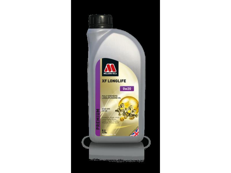 Millers Premium XF Longlife 0w20 1l MILLER OILS