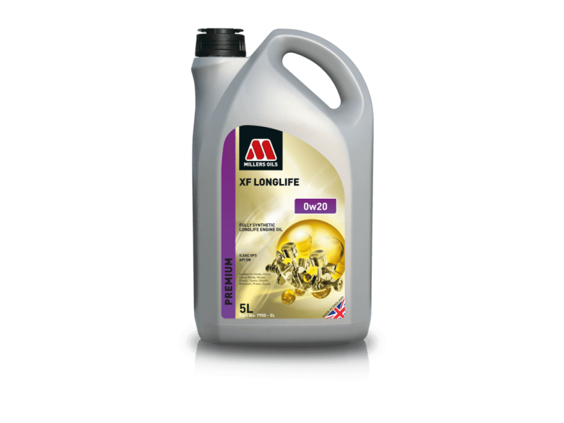 Millers Premium XF Longlife 0w20 5l MILLER OILS