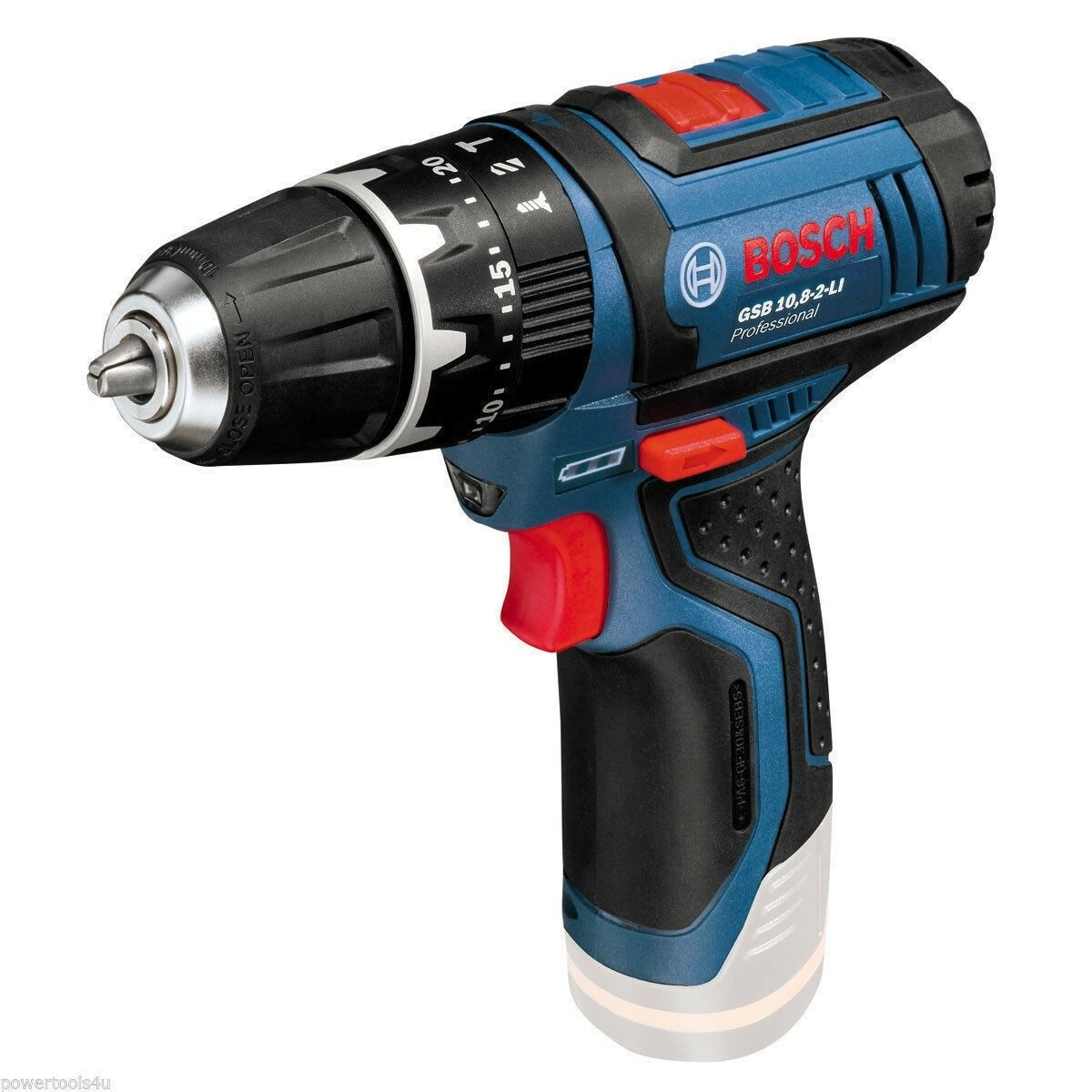 Aku kombinované šroubováky Bosch GSB 10,8-2-LI Professional - bez baterie, 06019B6901