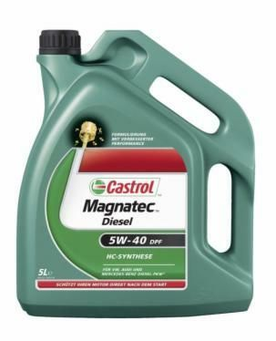 Motorový olej Castrol MAGNATEC DIESEL DPF 5W40 5L