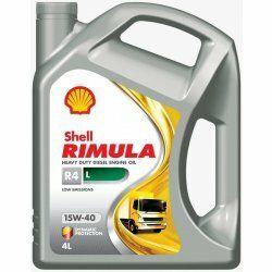 Motorový olej Shell Rimula R4 L 15W-40     5L
