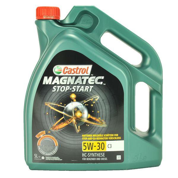 Motorový olej Castrol MAGNATEC STOP-START 5W30 C3 5L