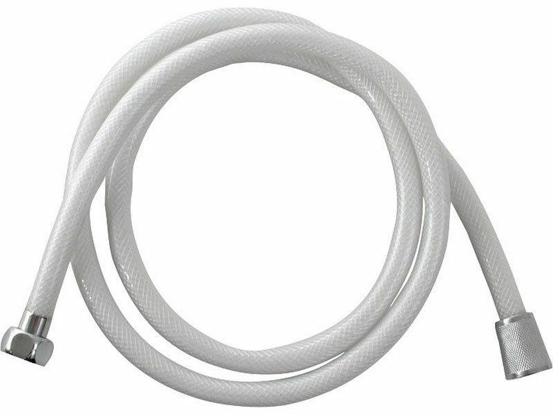 Hadice sprchová, bílá, 150cm, 150cm, PVC VIKING