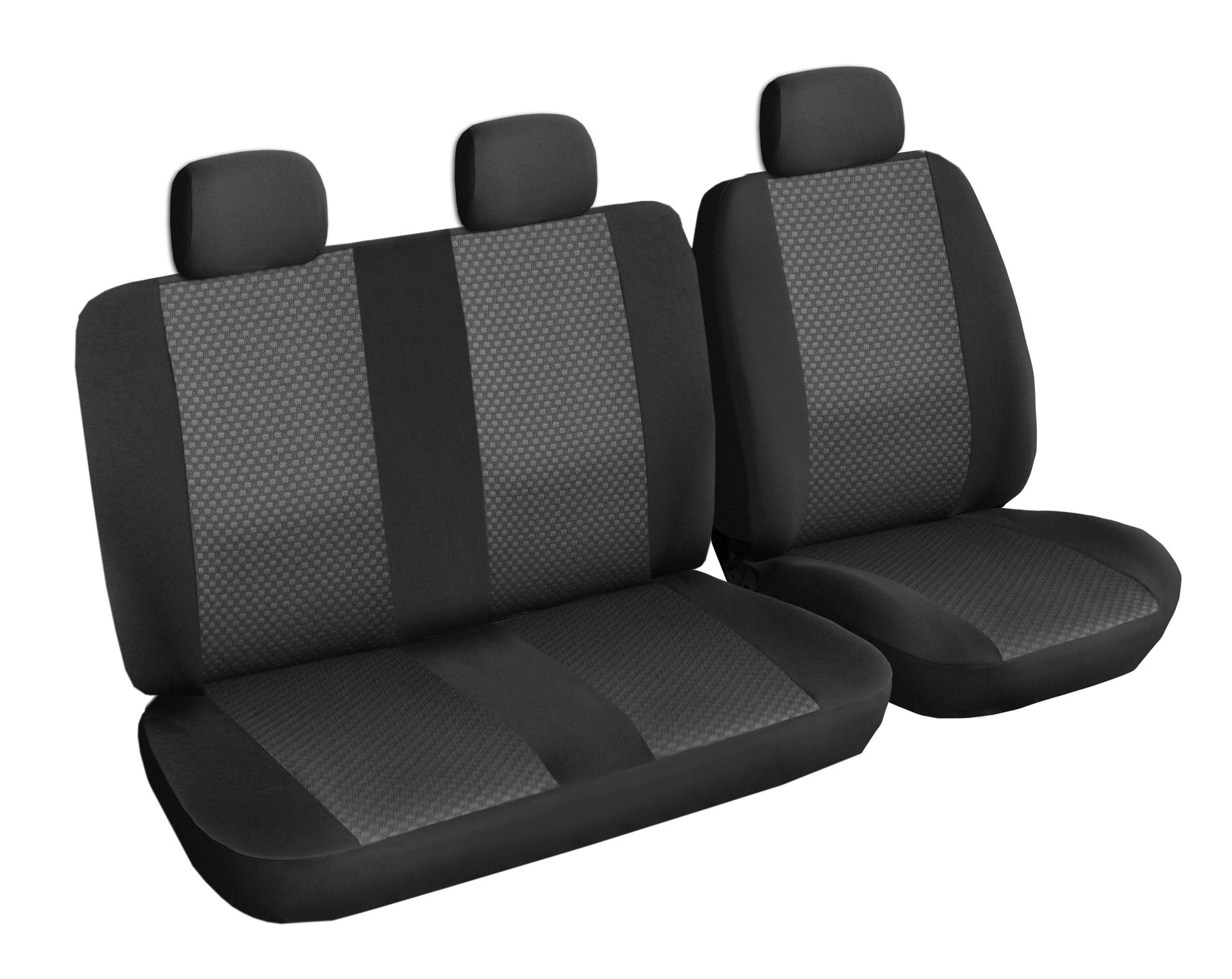 Autopotahy PEUGEOT EXPERT III, Citroën Jumpy III 3 místa, od r. 2016, černé SIXTOL