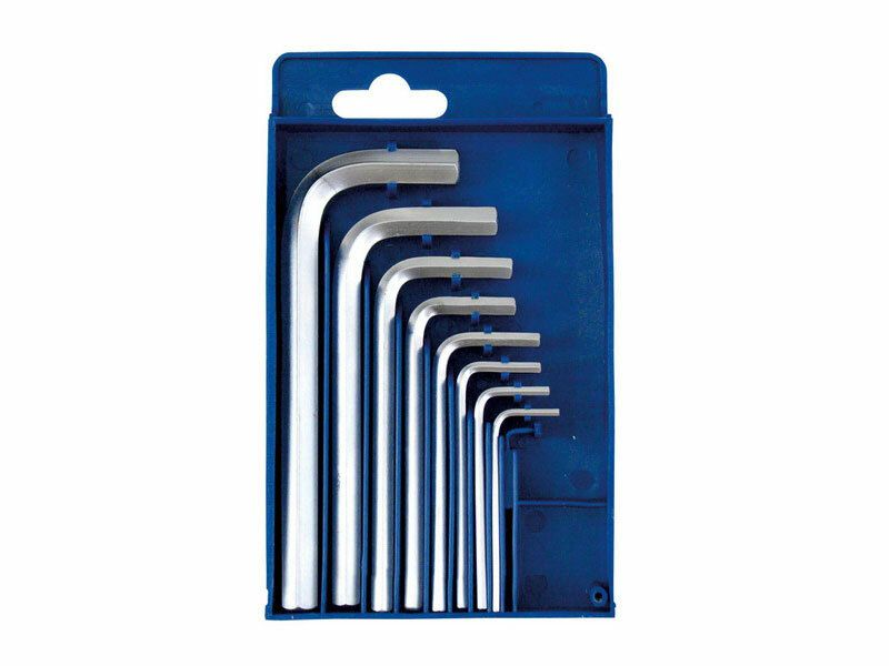 Imbus klíče, sada 8ks, 2-2,5-3-4-5-6-8-10mm, CrV, EXTOL-CRAFT