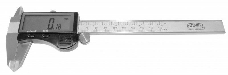 Posuvné měřítko digitální Somet CZ 0-150mm