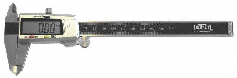 Posuvné měřítko digitální, 0-150mm / CZ výroba SOMET