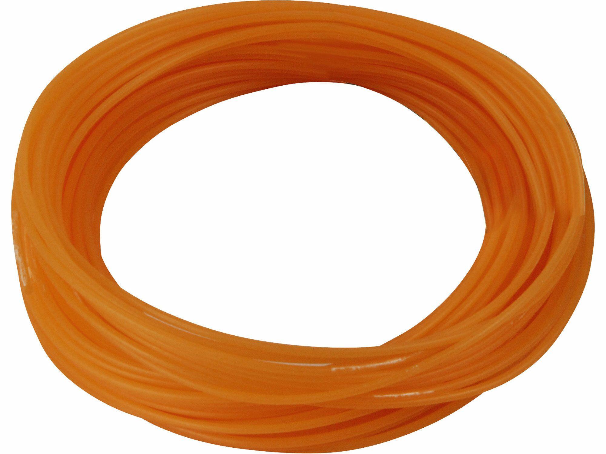 Struna do sekačky, 2,4mm, 15m, kruhový profil, nylon EXTOL-CRAFT