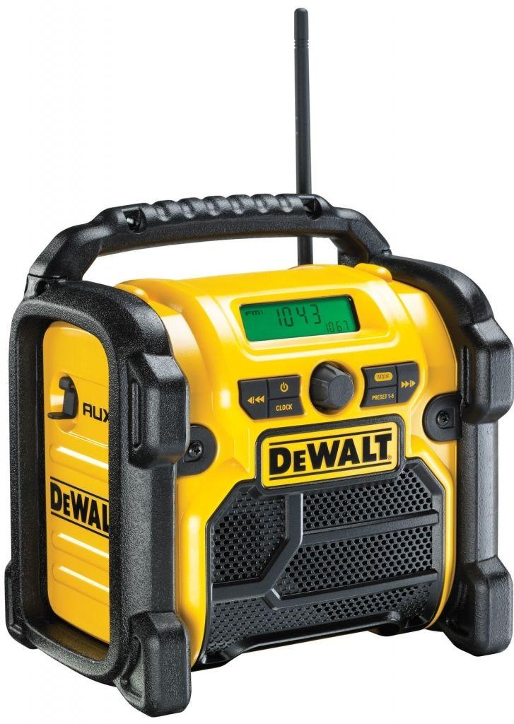 Aku rádio XR Li-Ion 10,8 18 V + 220V DeWALT DCR019