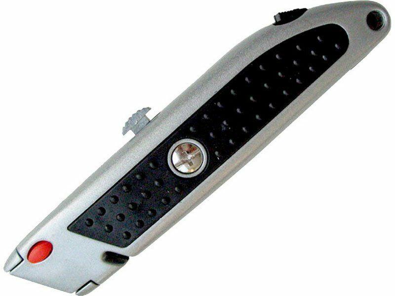 Nůž s výměnným břitem, 5ks náhradních břitů, tlačítko pro výměnu břitu EXTOL-CRAFT