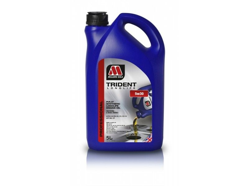 Millers Trident Longlife 5w30 5l MILLER OILS