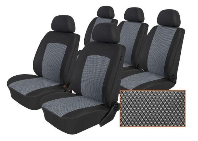 Autopotahy Seat Alhambra, od r. 1994-2010, 5 míst, Dynamic šedé SIXTOL