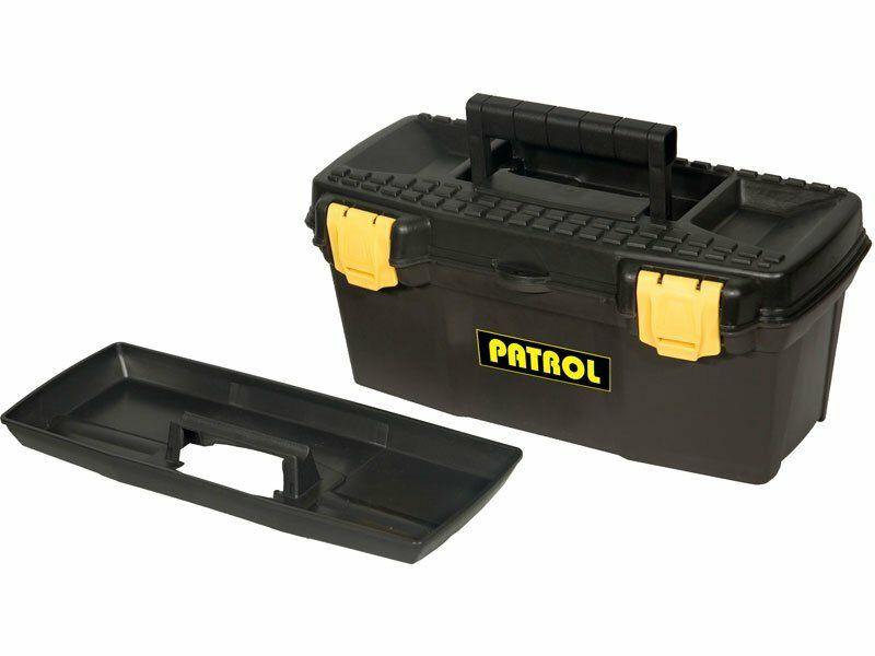 """Kufr na nářadí 15"""" ERGO, 385x190x170mm, plastový EXTOL-CRAFT"""