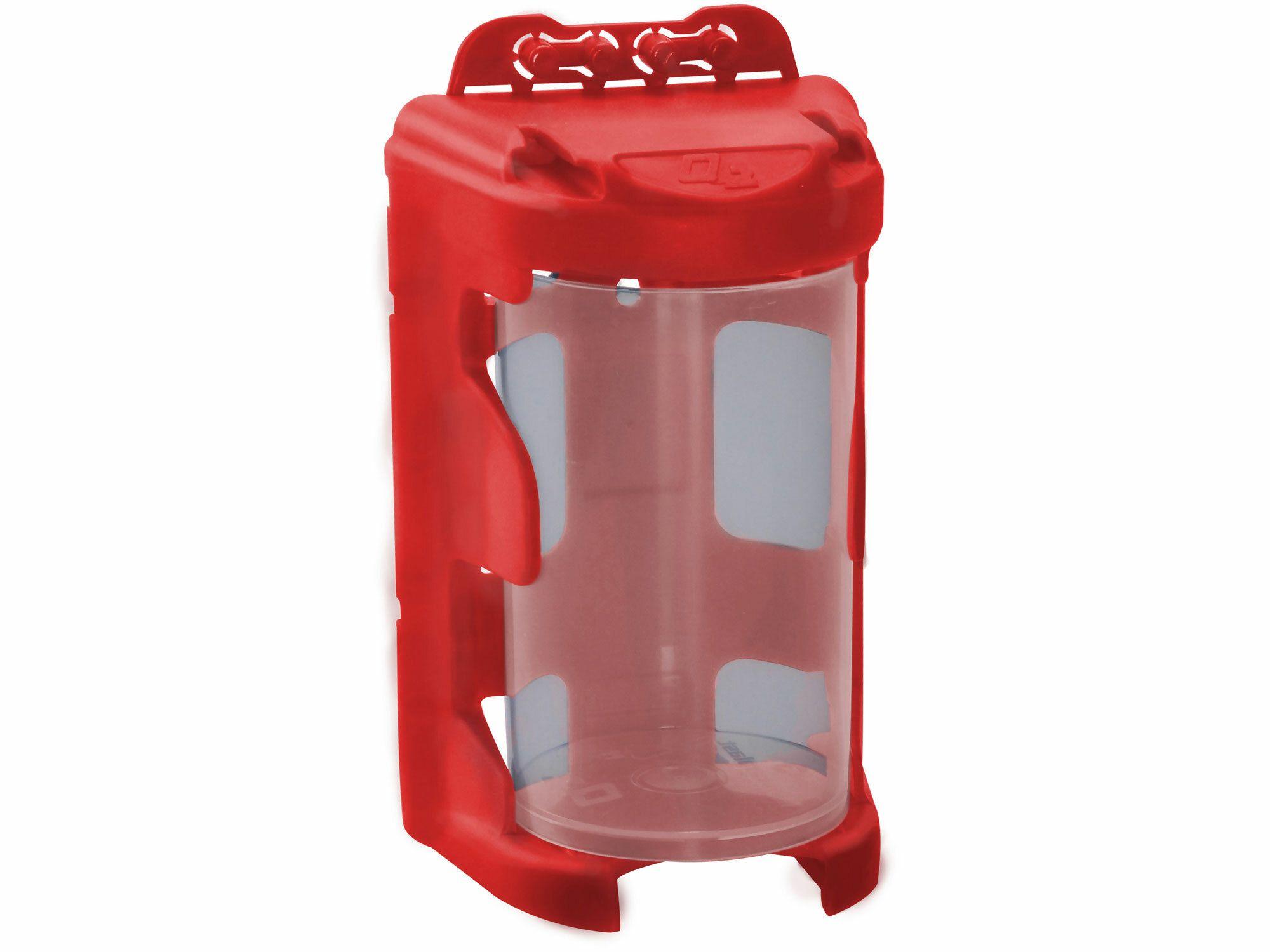 Organizér modulový závěsný - červený, 210ml (60 x 92mm), PP, EXTOL
