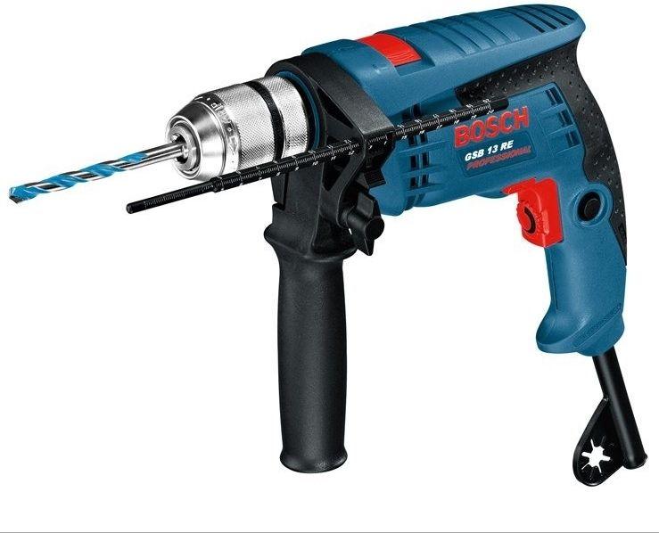 Vrtačka příklepová Bosch GSB 13 RE Professional, 0601217100
