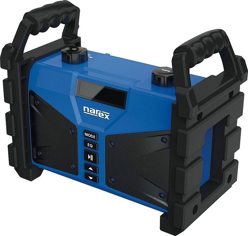 Rádio na stavbu s powerbankou BT 02 (FM, AUX, USB, Bluetooth) NAREX