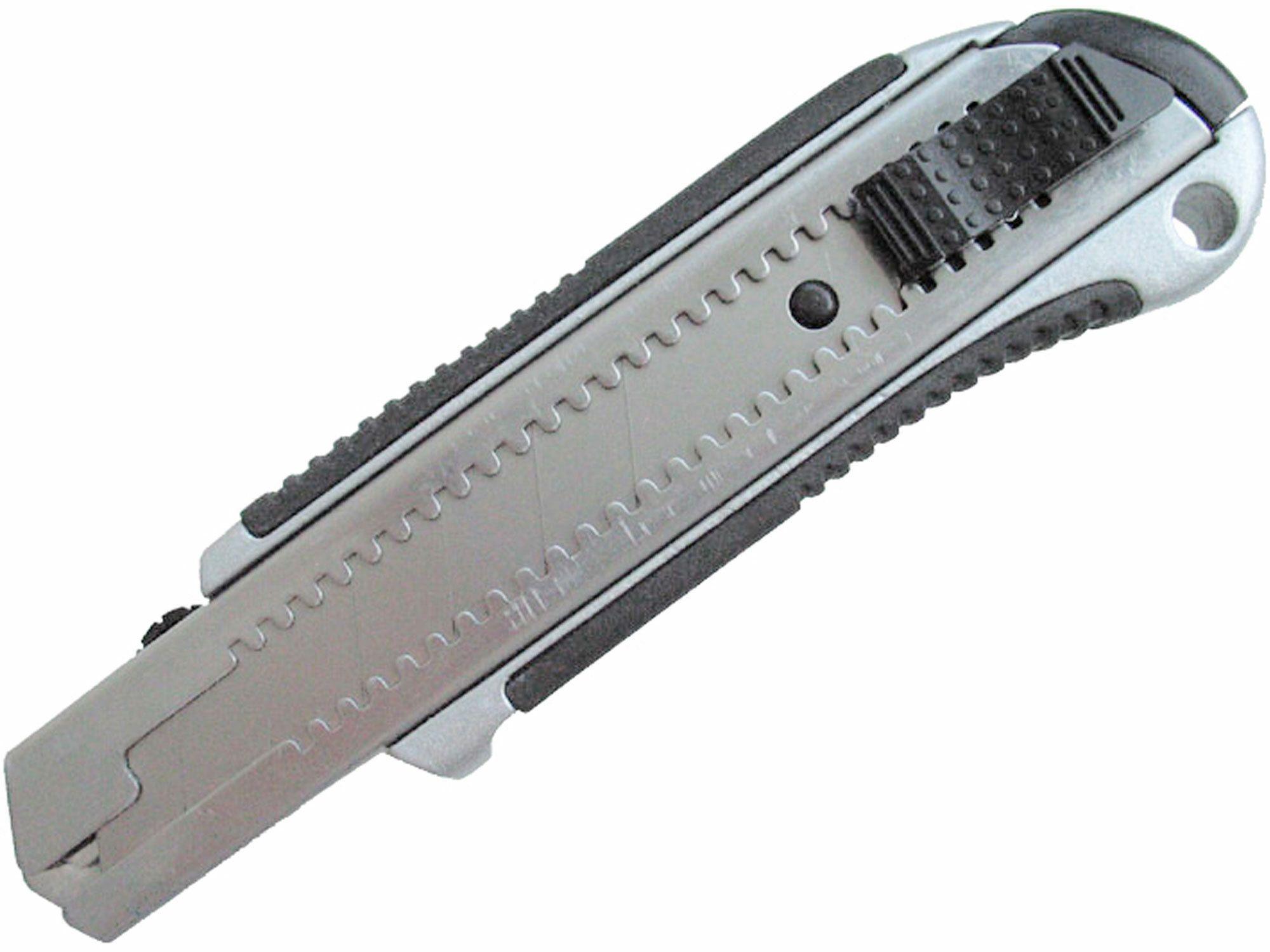 Nůž ulamovací kovový s kovovou výztuhou, 25mm EXTOL-PREMIUM
