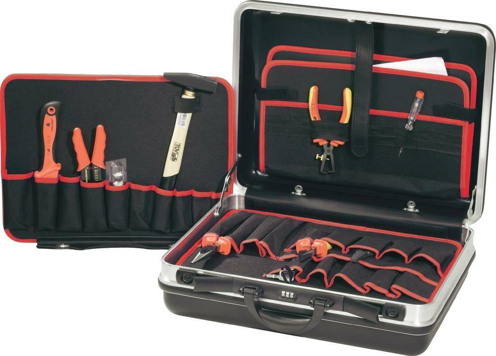 Kufr s nářadím Toolcraft, 21 ks PROFI
