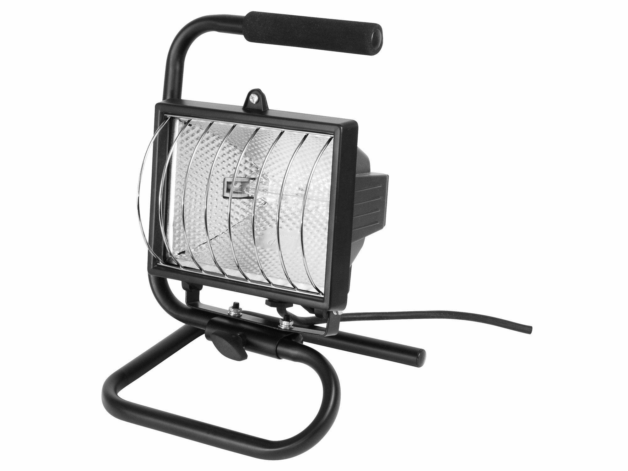 Světlo halogenové přenosné s podstavcem, 500W, kabel 1,7m, EXTOL CRAFT 82789