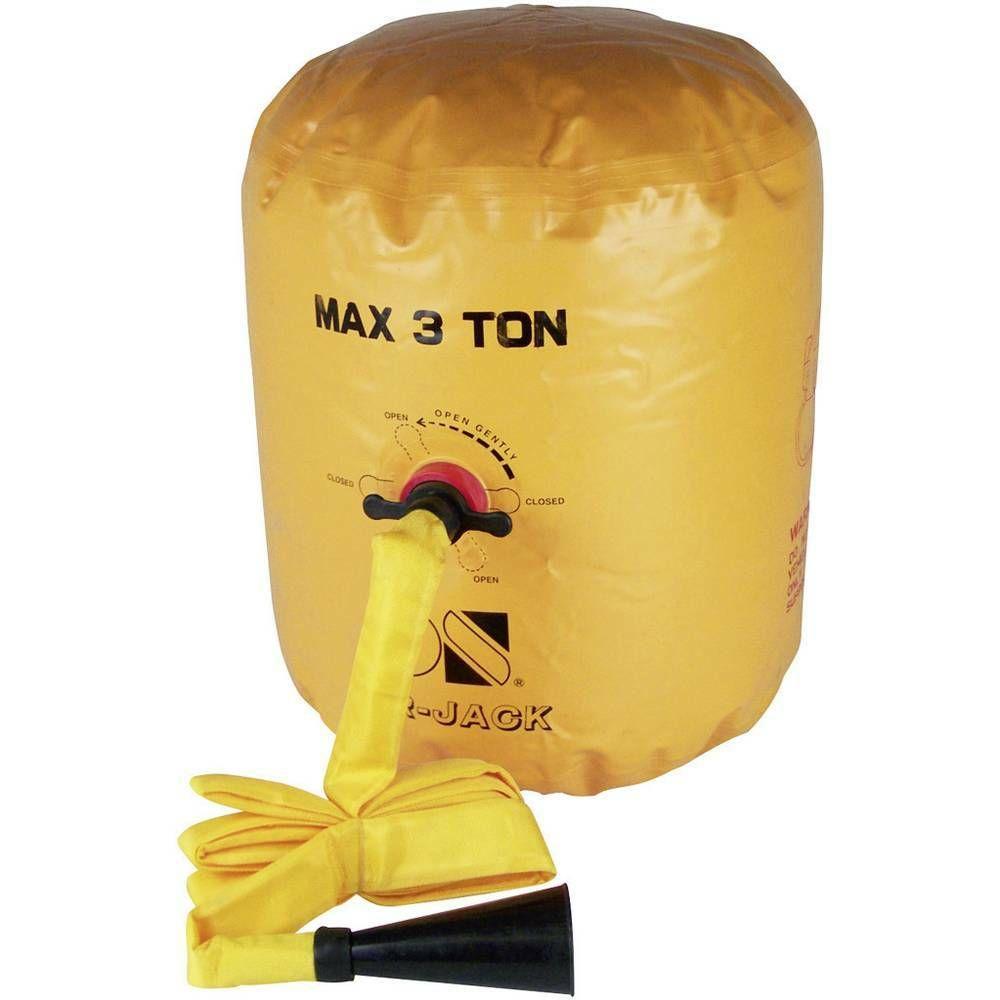 Balónový zvedák Air Jack 30178, pro vozy do 3 t, max.výška 60 cm TOOLCRAFT