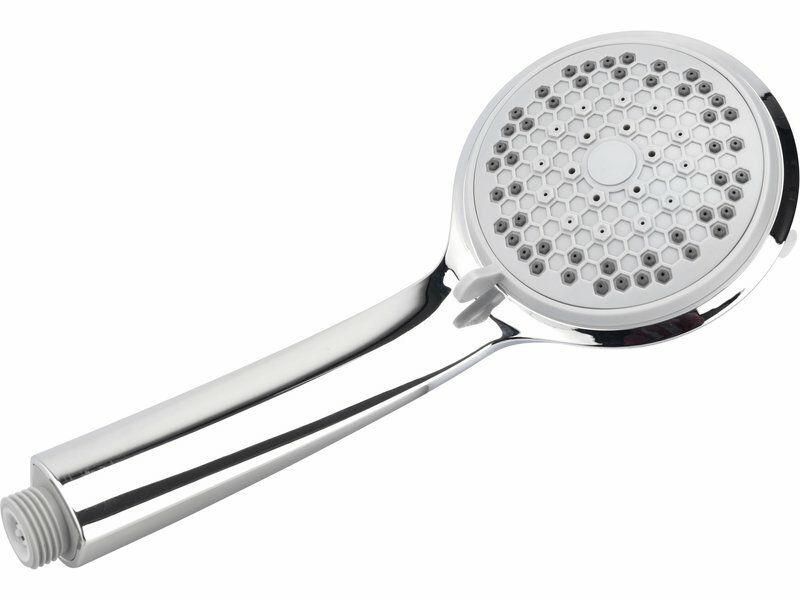 Hlavice sprchová, 5 funkcí, 100mm, chrom, FRESHHH