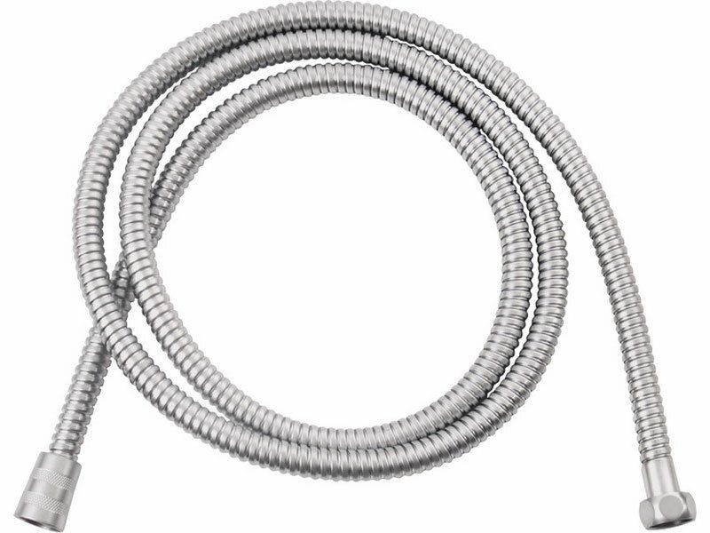 Hadice sprchová, stříbrná, 150cm, PVC, FRESHHH