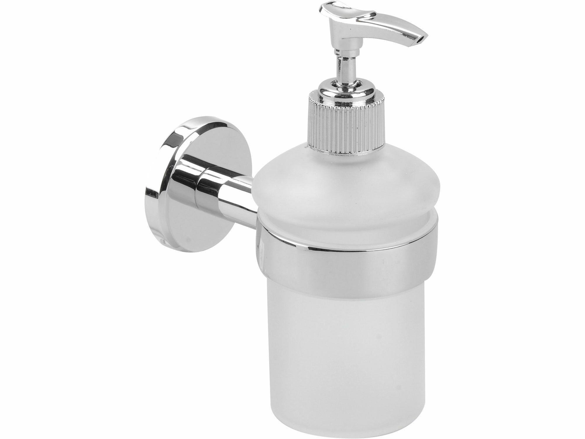 Dávkovač mýdla, 110x70x155mm, Chrom, FRESHHH