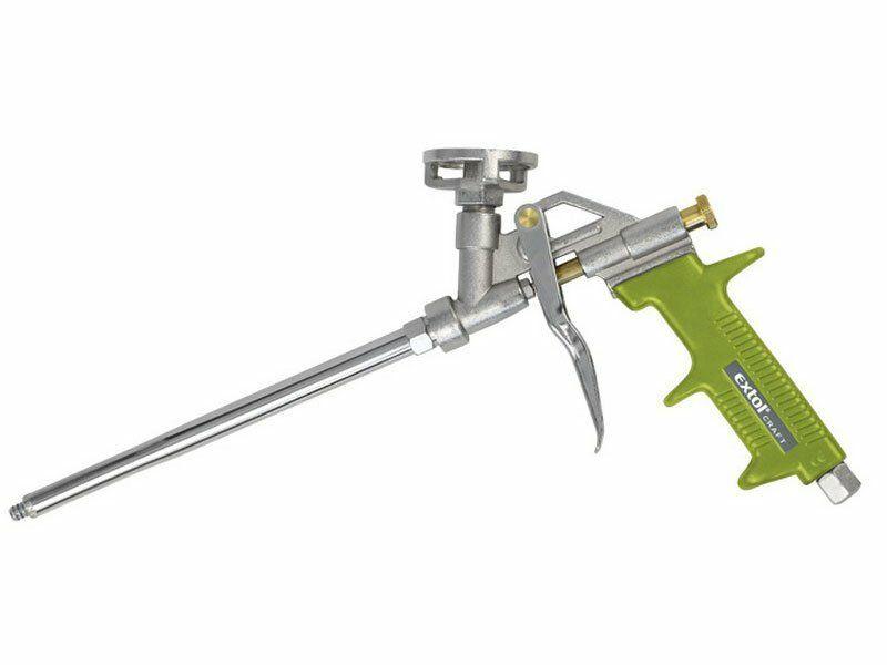 Pistole na PU pěnu, s regulací průtoku EXTOL-CRAFT