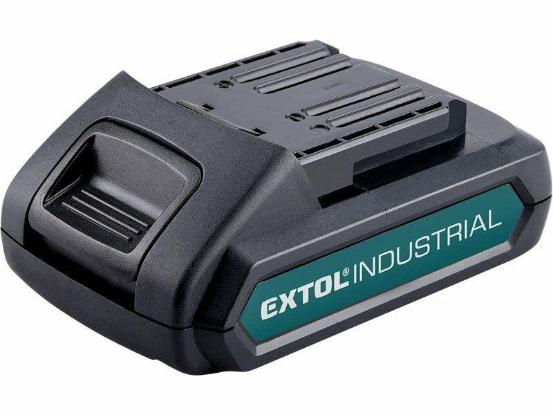 Baterie akumulátorová 18V, Li-ion, 2000mAh, EXTOL INDUSTRIAL