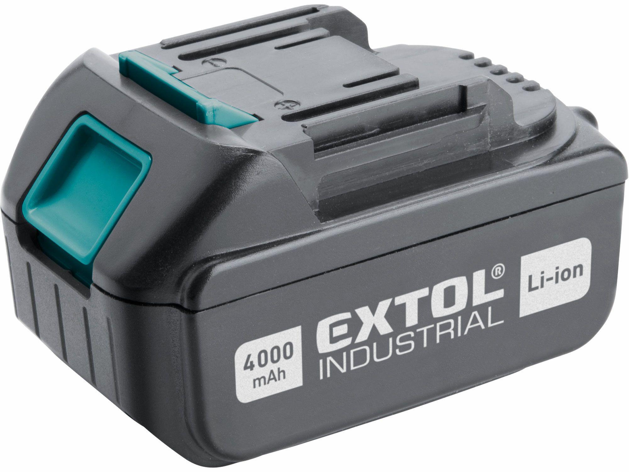 Baterie akumulátorová 18V, Li-ion, 4000mAh EXTOL INDUSTRIAL