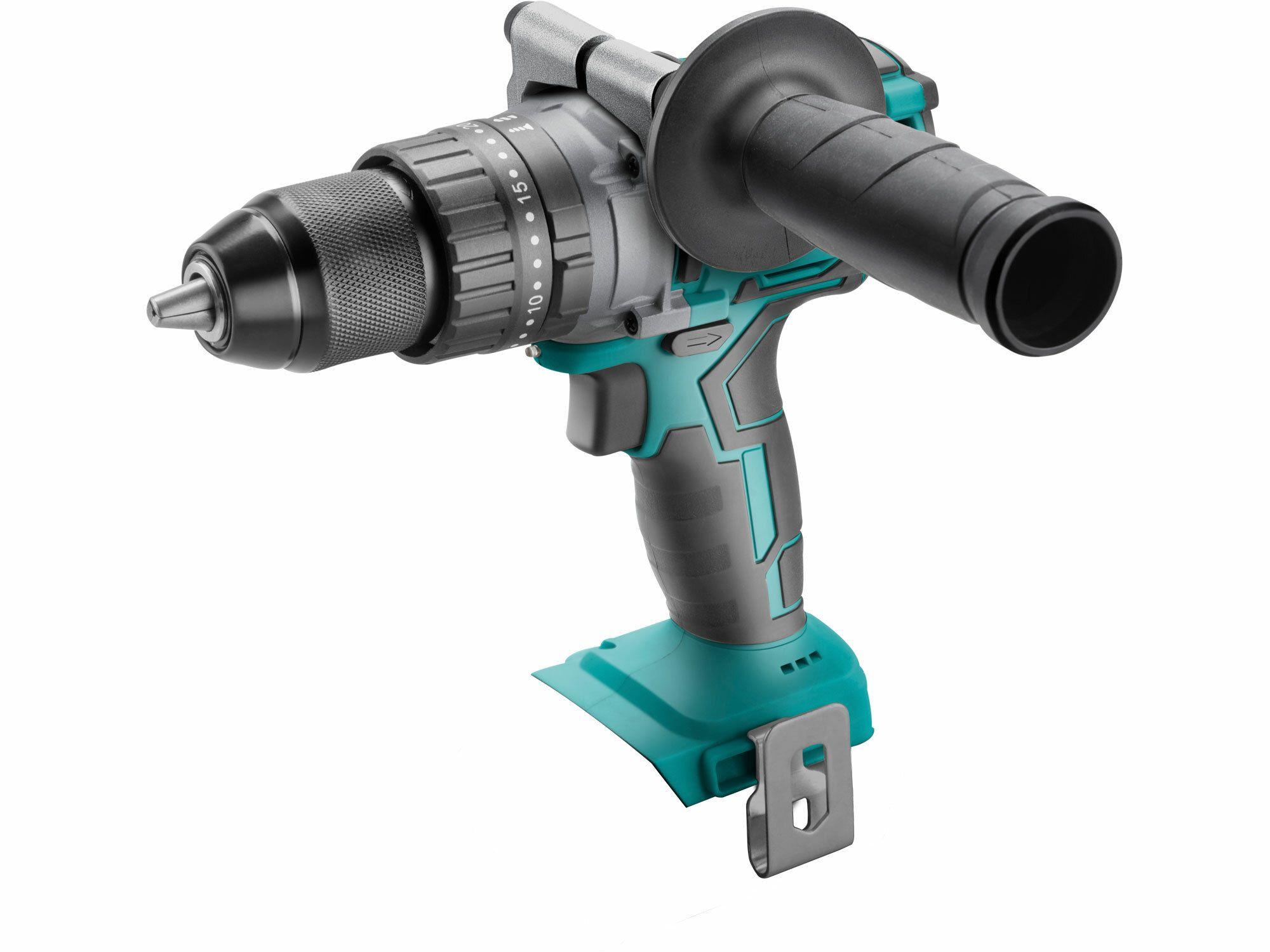 Vrtací šroubovák aku s příkl, 20V Li-Ion, bez baterie a nabíječky,EXTOL SHARE20V BRUSHLESS EXTOL-INDUSTRIAL