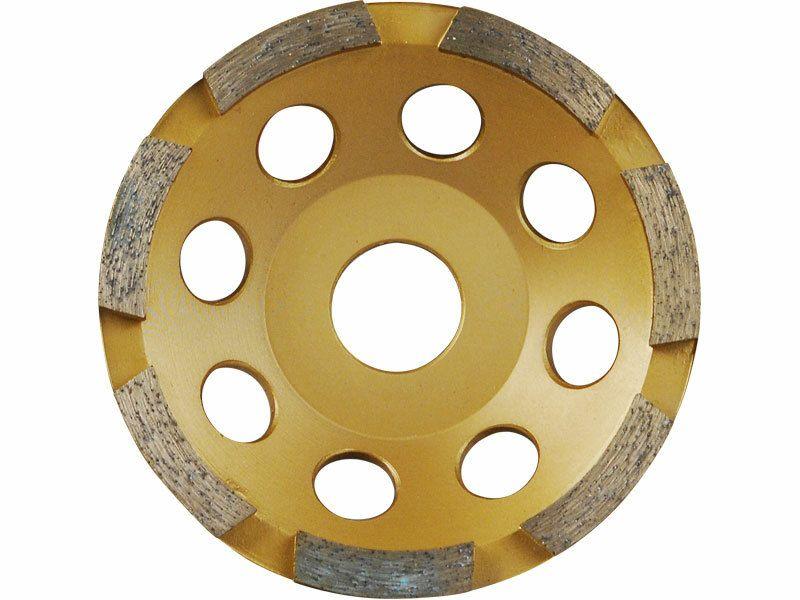 Kotouč diamantový brusný jednořadý, 125x22,2mm EXTOL-PREMIUM