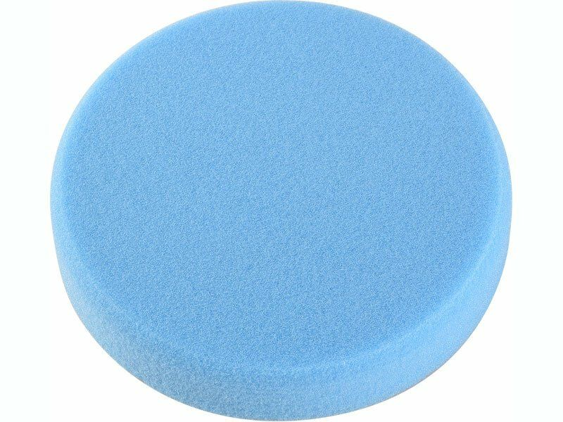 Kotouč leštící pěnový T60, modrý, Ř150x30mm, suchý zip, EXTOL PREMIUM