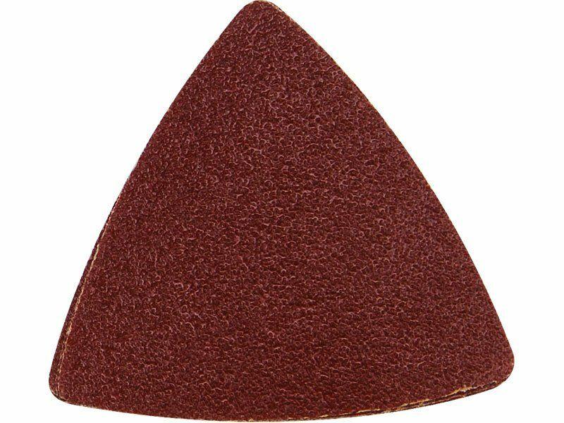 Papíry brusné delta - mix zrnitostí, bal. 20ks, 80mm, uchycení: suchý zip EXTOL-PREMIUM