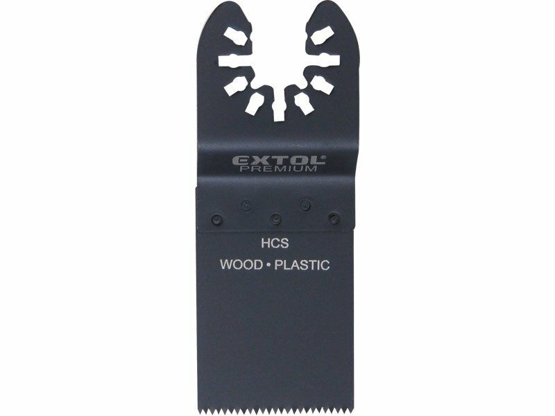 List pilový zanořoací na dřevo 2ks, 34mm, HCS, EXTOL PREMIUM