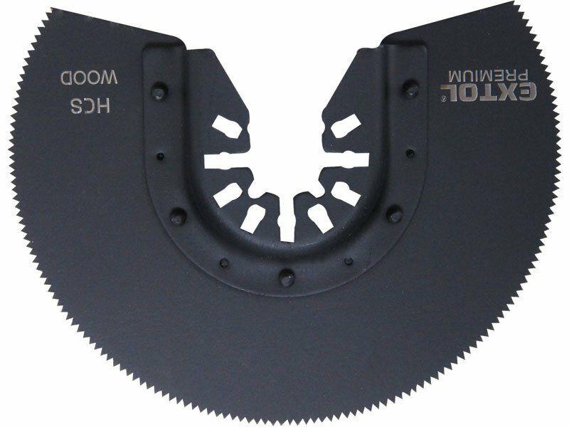 Kotouč segmentový pilový na dřevo, 88mm, HCS, EXTOL PREMIUM